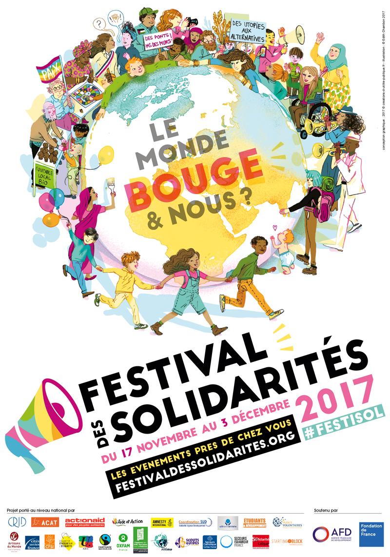 Affiche officielle Festisol 2017